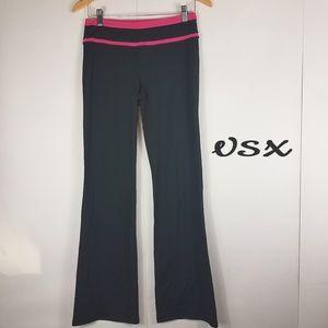 Vsx by Victoria secret black wide leg yoga pants
